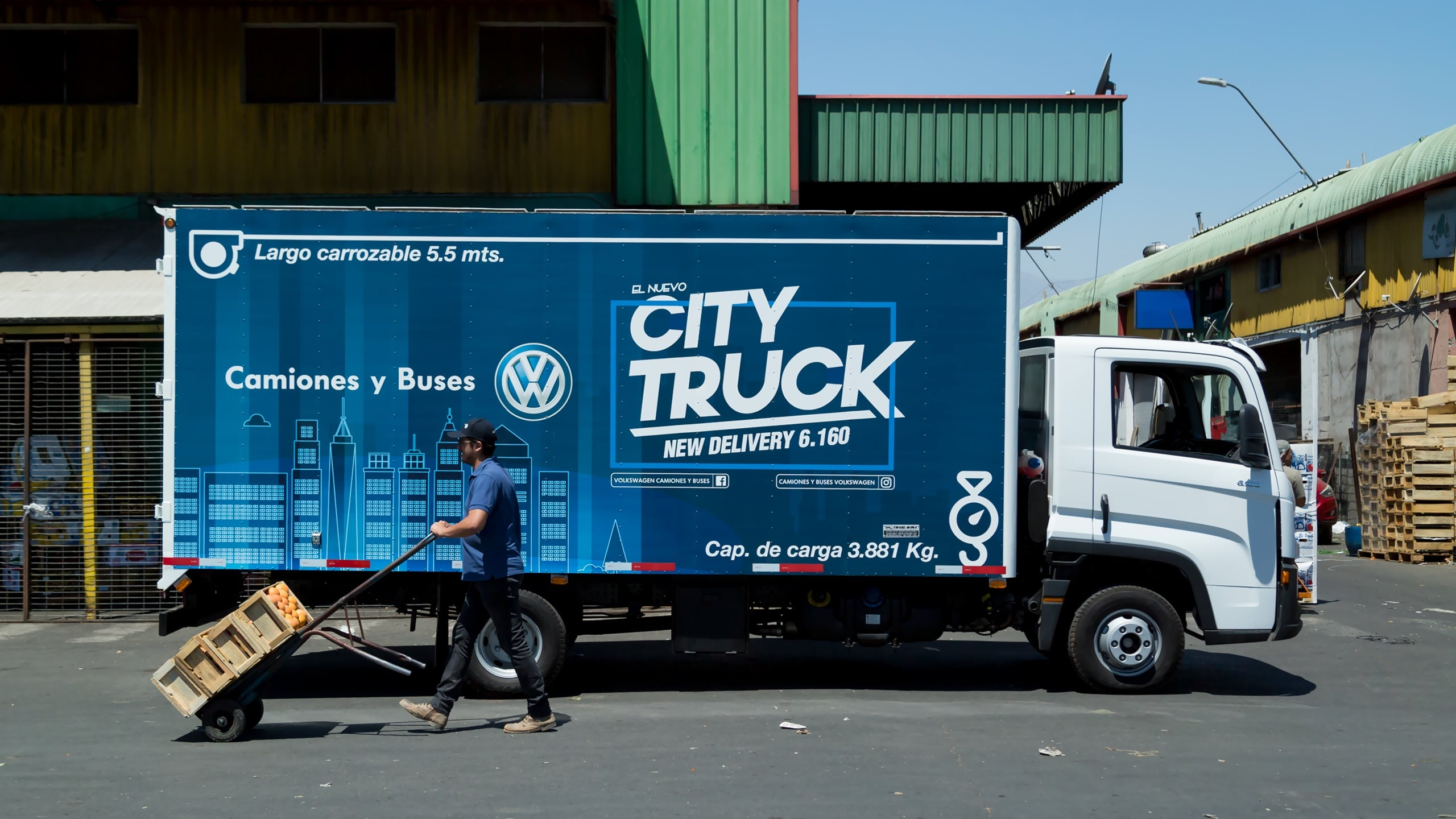 New Delivery 6.160 – City Truck
